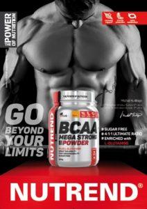 Poster BCAA Mega strong