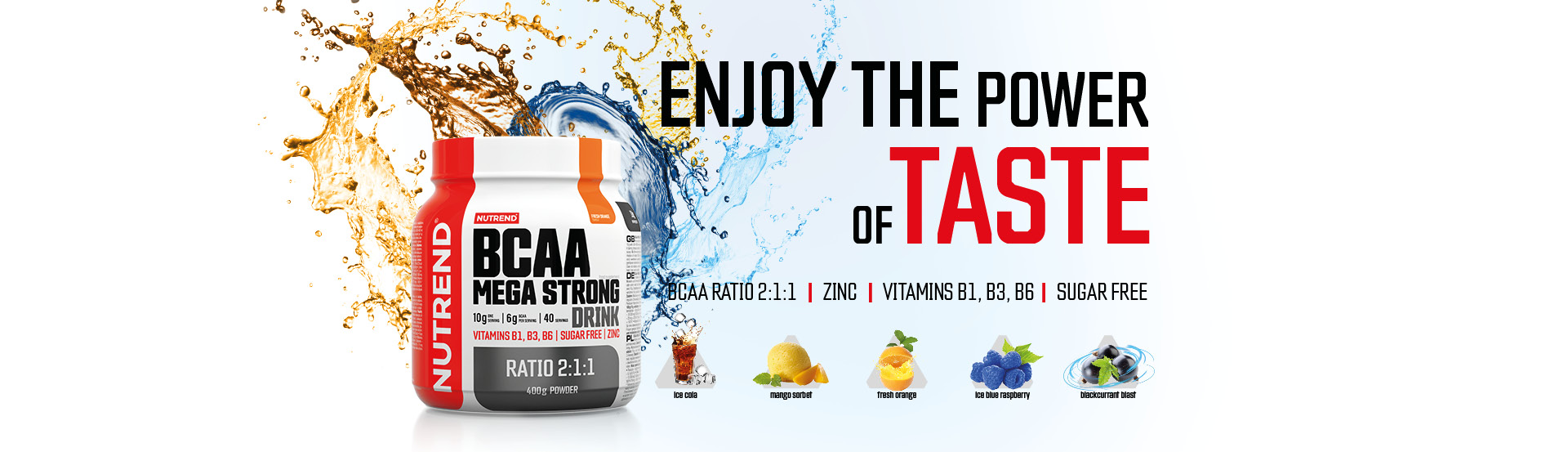 Banner BCAA Mega Strong Drink
