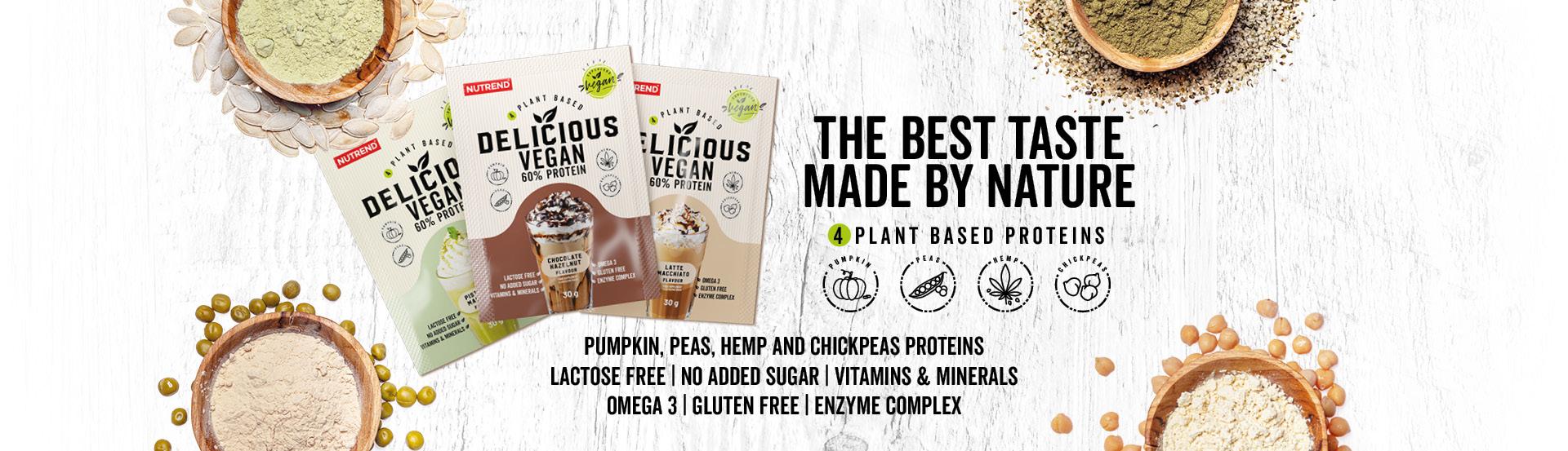 Banner delicious Vegan Protein