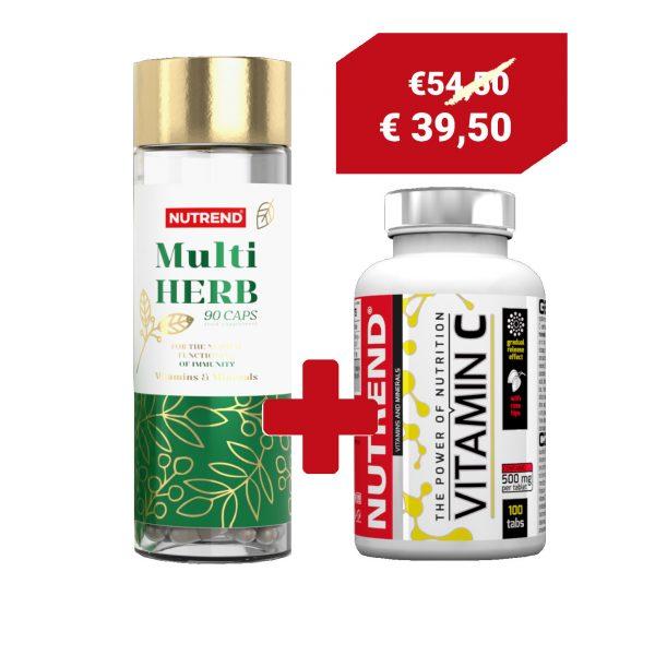 Offerta multi herb con vitamina c in omaggio