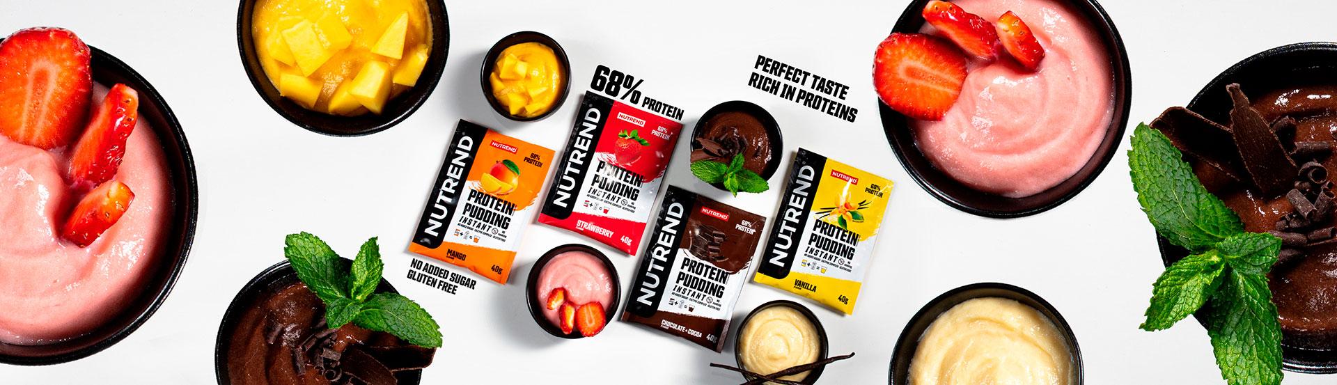 protein pudding con esempi di preparazione